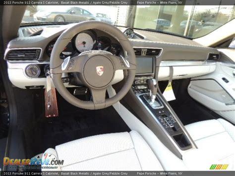 porsche agate grey interior agate grey pebble grey interior 2013 porsche 911 carrera