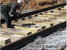 Railroad Ties TimberSIL® Projects and News