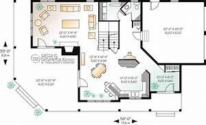 champetre mediterraneen bordure de lac chalet w2837 With creer plan de maison 2 maison americaine