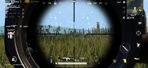 adjust scope  zoom    sniper  pubg