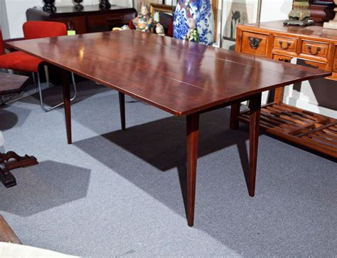 cherry drop leaf dining table cherry wood dining table with drop leaf at 1stdibs