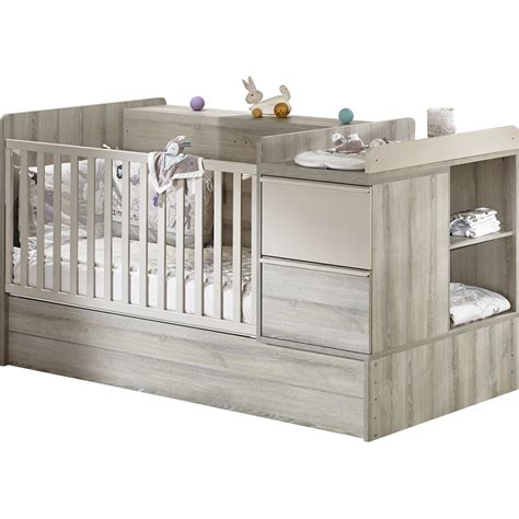 chambre bébé lit évolutif lit chambre transformable 70x140cm de sauthon meubles