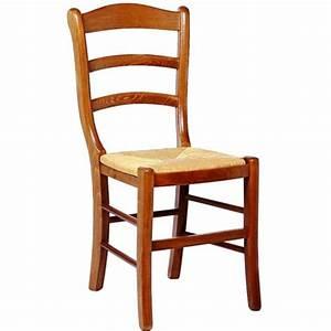 Chaise de salle a manger en bois et paille valaisanne 48 for Meuble salle À manger avec chaise paille