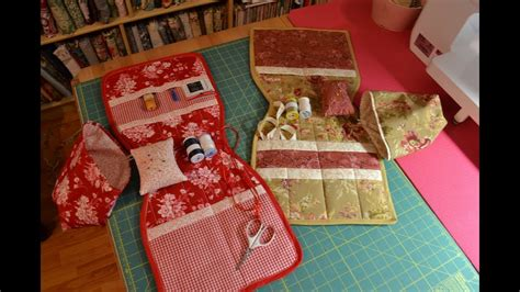 Part 1 Quilted Arm Chair Sewing Caddy