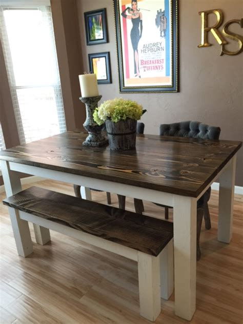 solid wood farmhouse table unavailable listing on etsy
