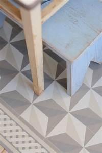 25 best ideas about cement tiles bathroom on pinterest With revetement de sol pvc imitation parquet