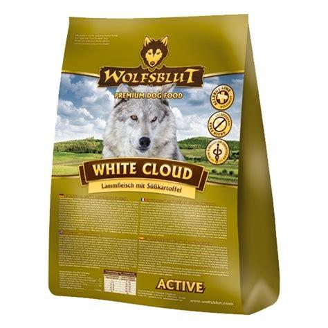 wolfsblut white cloud active hundefutter von wolfsblut