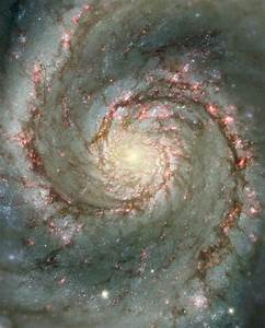 The Heart of the Whirlpool Galaxy | ESA/Hubble
