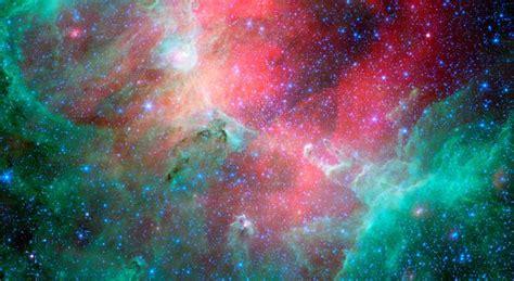 space images eagle nebula flaunts  infrared feathers