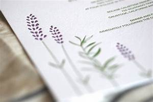 rosemary lavender With pressed lavender wedding invitations