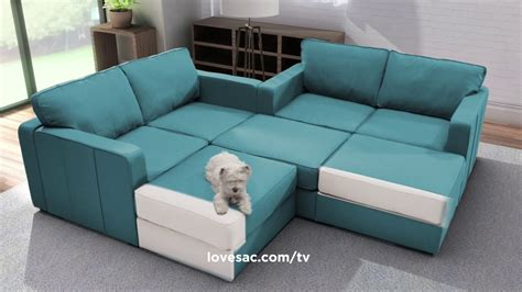 Lovesac Sectional by The World S Most Adaptable