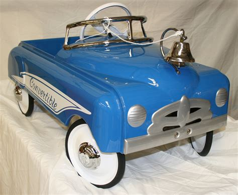 To Restore Or Not To Restore Antique Peddle Cars