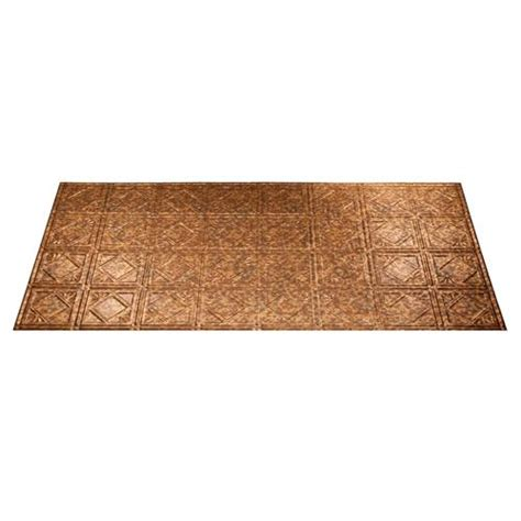 Fasade Ceiling Tiles Menards by Fasade Traditional 4 2 X 4 Pvc Glue Up Ceiling Tile