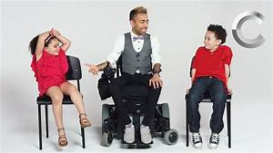 Kids Meet a Guy with Muscular Dystrophy | Cut - YouTube