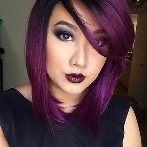 Couleur Cheveux Pastel : 1001 id es pour sublimer votre look avec la couleur de cheveux violine ~ Melissatoandfro.com Idées de Décoration
