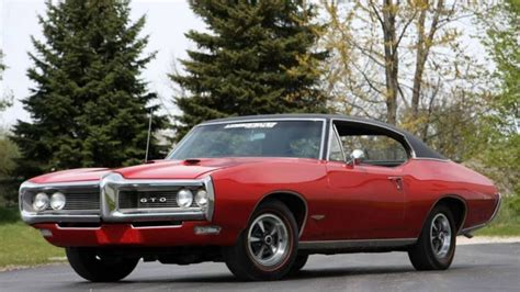 5 Rare And Unusual Muscle Car Options You've Probably