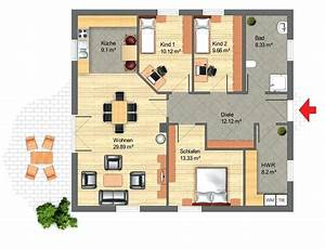 Bungalow Grundriss 4 Zimmer : bungalow grundrisse abersicht mit vielen grundrissen grundriss winkelbungalow 120 qm garage ~ Pilothousefishingboats.com Haus und Dekorationen
