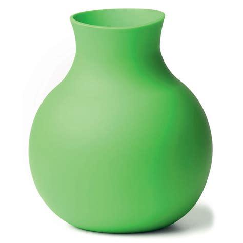 unbreakable rubber vase  green head