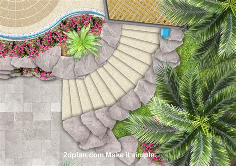 stairs for beds garden landscape plan software images gallery