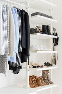 Lovely Small Walk In Closet Layout Ideas Compilation