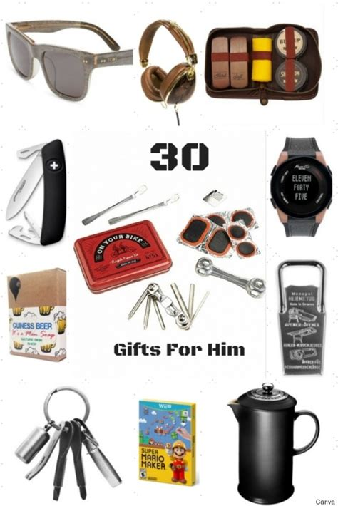30 holiday gift ideas for him