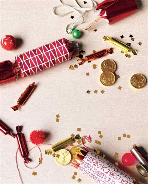 christmas cracker inspired crafts martha stewart