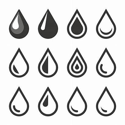 Drop Oil Vector Water Blood Template Emblem