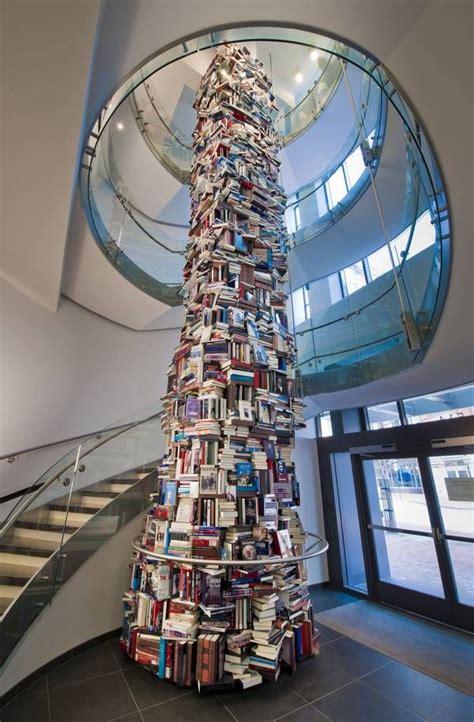 abraham lincoln books    feet tall book tower