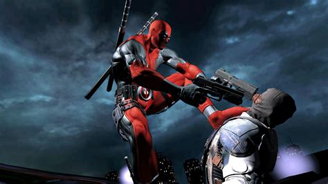 deadpool action wallpapers hd games wallpapers