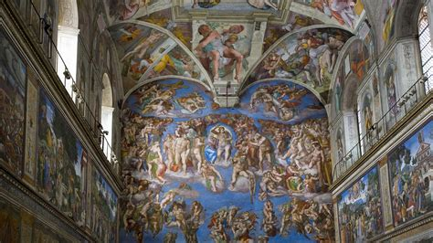 places sistine chapel vatican museum rome italy