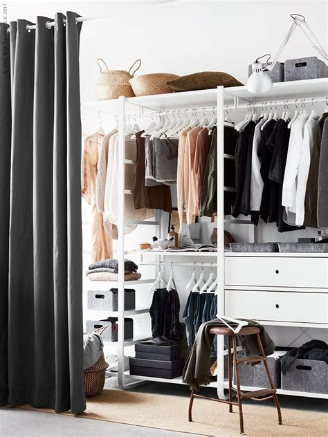 Schrank Mit Vorhang by Elvarli 2 Elemente Wei 223 In 2019 Scandinavian Design