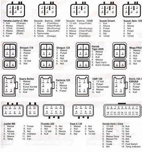 Cara Membaca Socket Cdi Motor Semua Type
