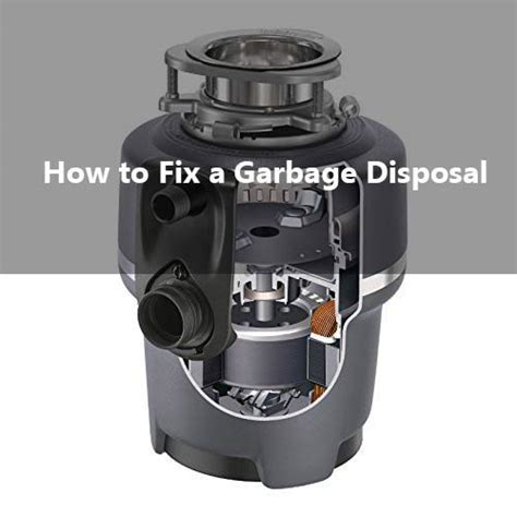 how to fix sink disposal how to fix a garbage disposal