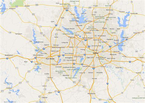 map  dallas state map  usa united states maps