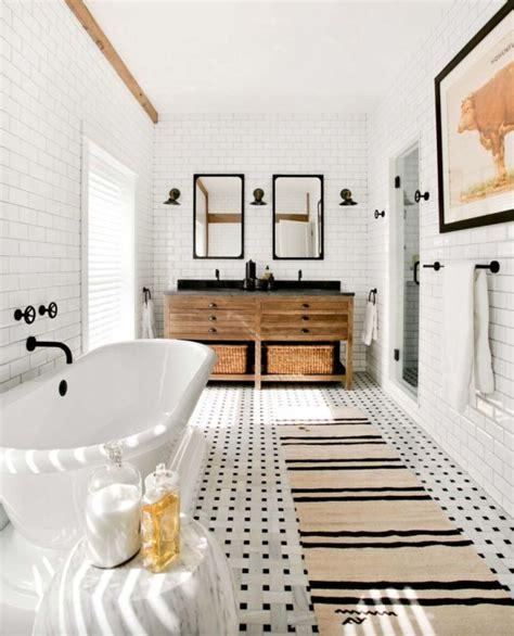 farmhouse bathroom tile ideas 53 vintage farmhouse bathroom ideas 2017 decor Farmhouse Bathroom Tile Ideas
