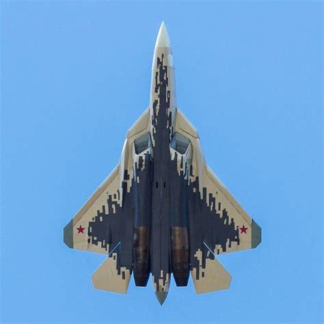 New Camouflage Of Su-57 (t-50, Pak-fa) [1080x1080