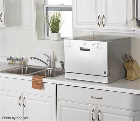 small countertop dishwasher 5 space saving appliances small kitchen owners need
