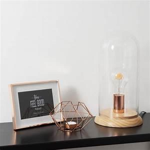 luminaire cuivre suspension lampe nouveautes With luminaire maison du monde