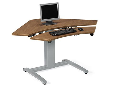 best electric standing desk lizell office furniture electric corner curved front top