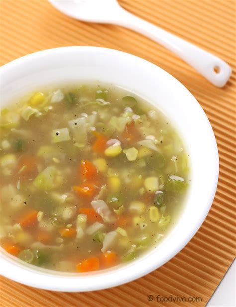 veggie soup recipe vegetable soup recipe make healthy homemade mix vegetable soup in easy steps