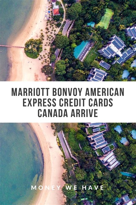 It gives you a similar annual bonus as the bonvoy boundless card, plus you get up to a $300 annual statement credit at participating marriott bonvoy properties and priority pass airline lounge access. Marriott Bonvoy American Express Credit Cards Canada arrive pinterest - Money We Have