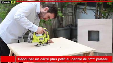 fabriquer une table de fabriquer sa table basse en bois