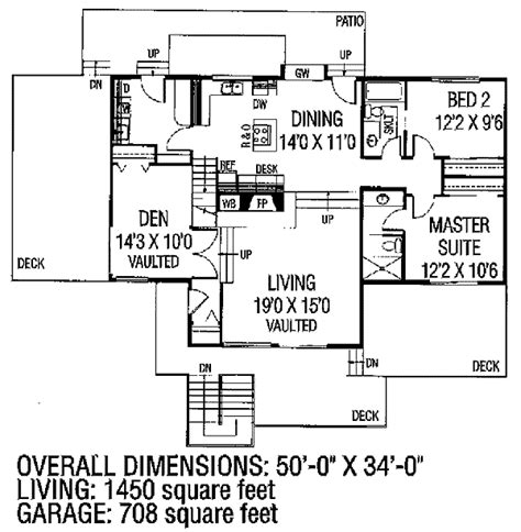a frame house plans with garage modified a frame house plan 7894ld 1st floor master