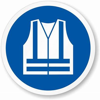 Vest Safety Visibility Wear Mandatory Iso Construction