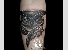 Tatouage Avant Bras Homme Hibou Tattoo Art
