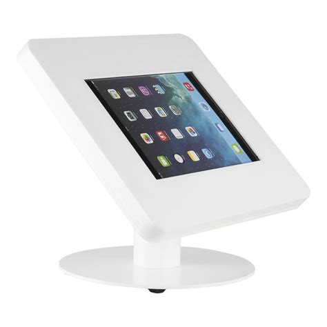 tablet stand for desk desk stand for tablets 9 11 inch white meglio exhibishop