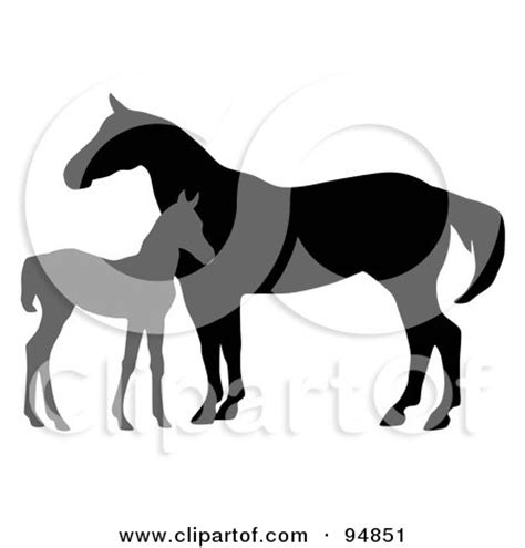 clipart mare royalty free animal illustrations by c franzwa page 1