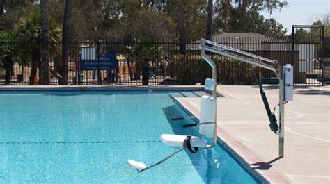 handicap pool lift unique pools and designs