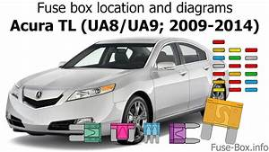 Fuse Box Location And Diagrams  Acura Tl  Ua8  Ua9  2009-2014