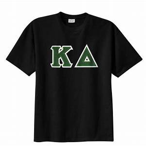 kappa delta sewn on greek letter t shirt kappa delta With greek stitched letter sweatshirts
